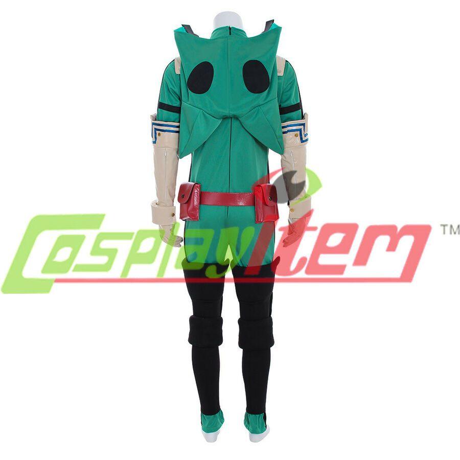 NEW My Hero Academia Izuku Midoriya Cosplay costume Deku Battle outfit Costume