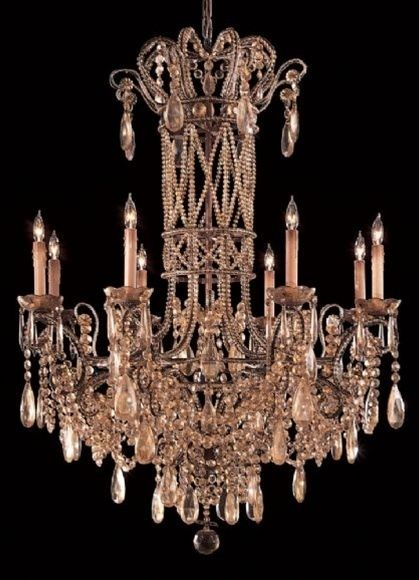Champagne Colored Chandelier Chandelier Lamp Beautiful Chandelier Table Lamp Lighting