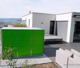 Gartenhaus Flachdach | modern
