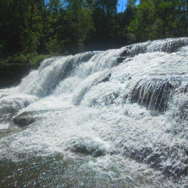 Waterfall in New York City! <3