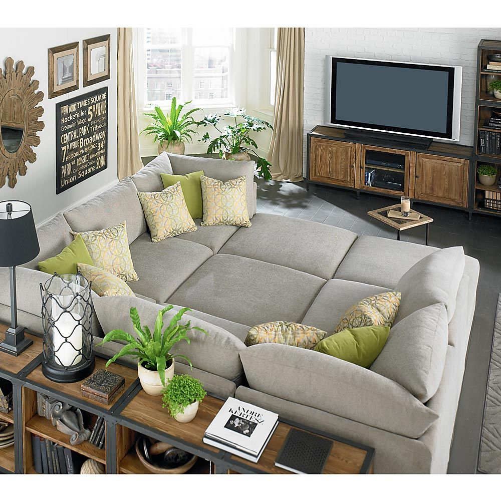 Wonderful Beckham Pit Sectional