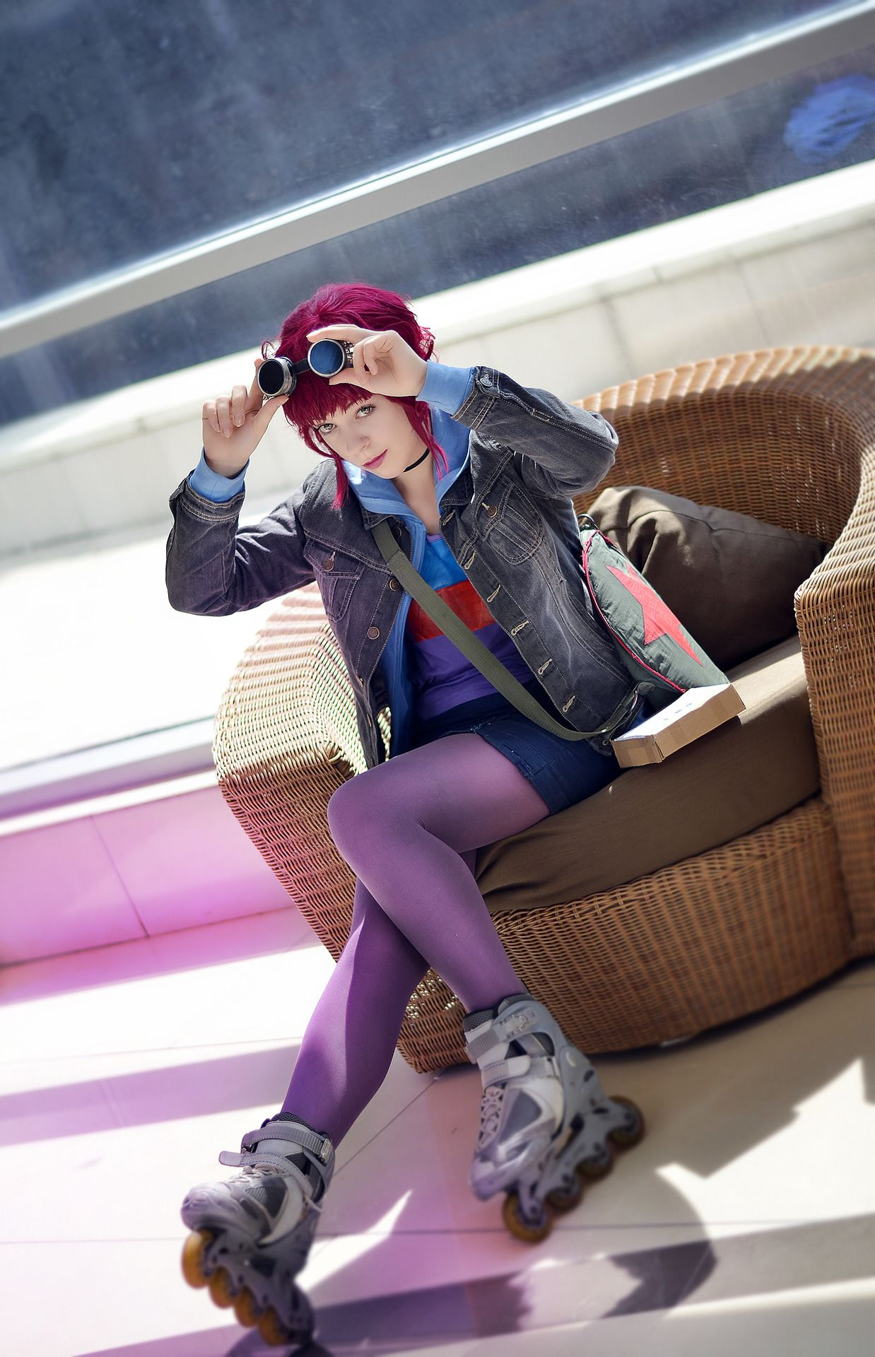 d1ea7e7f6d629 Ramona Flowers from Scott Pilgrim Cosplayer Submitter    TeaTessPhotographer  kotojama-san
