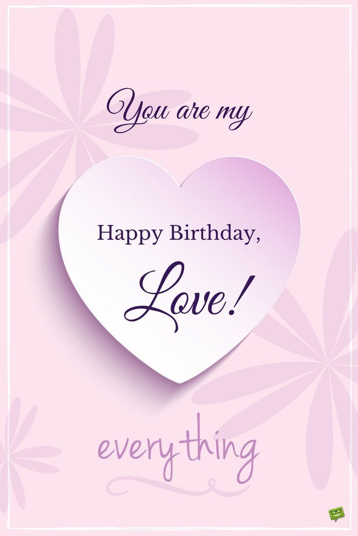 My Most Precious Feelings Romantic Birthday Wishes Happy
