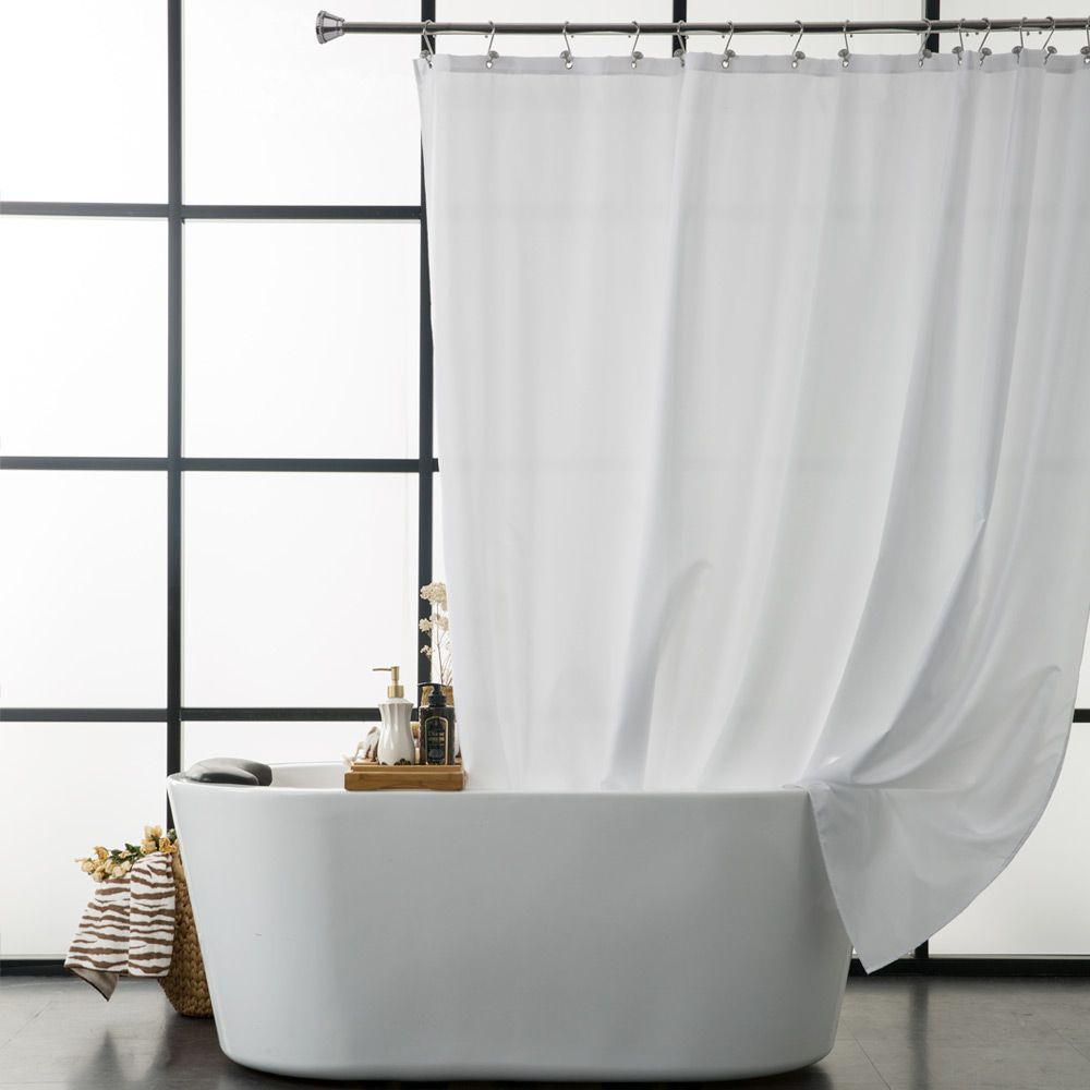 shower curtain shower environmentally friendly. Aimjerry Waterproof Polyester Fabric Bathroom White Shower Curtain Eco- Friendly London Curtains 71*71 Environmentally A