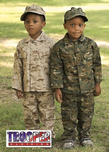 Woodland MARPAT Trooper Clothing Desert Marine Youth Uniform 3 PC