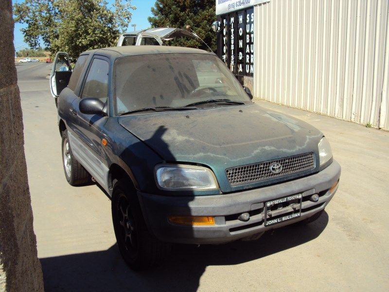 1996 Toyota Rav4 2 Door Suv 20l Mt Awd Color Green Z13471 Rancho Green Color Rav4 Green Things Color 1996 Greenthings Toyota Rav4 Suv Awd