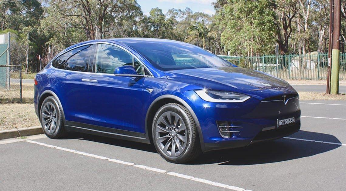 Tesla Model X 2018 Review 75d Carsguide 2018 Tesla Model X Pricing Reviews Ratings Kelley Blue Book Tesla Model X Review 2020 A Tesla Model X Tesla Bmw Suv