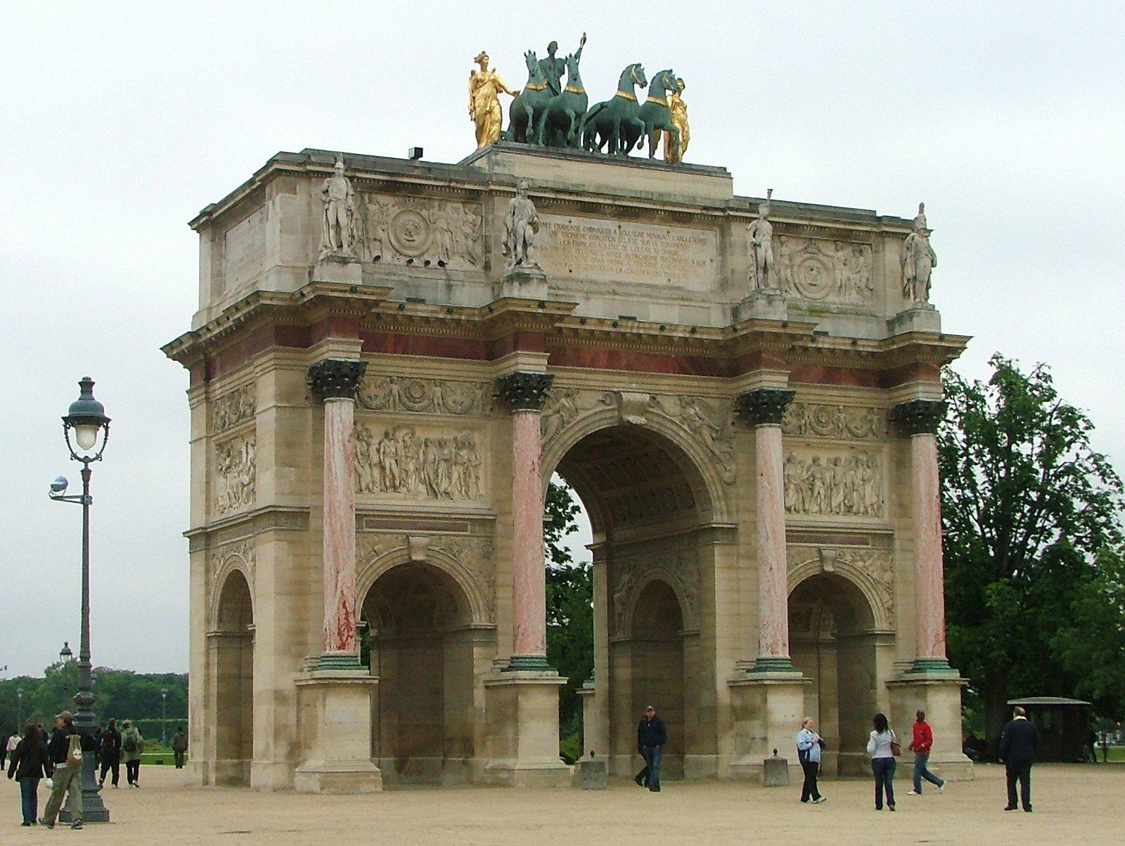 Paris Arc De Triomphe Du Carrousel With Images Cool Places To