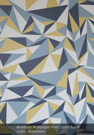 Bradbury Wallpaper from Lorna Syson - Patternsnap Blog 'Matchy Matchy'