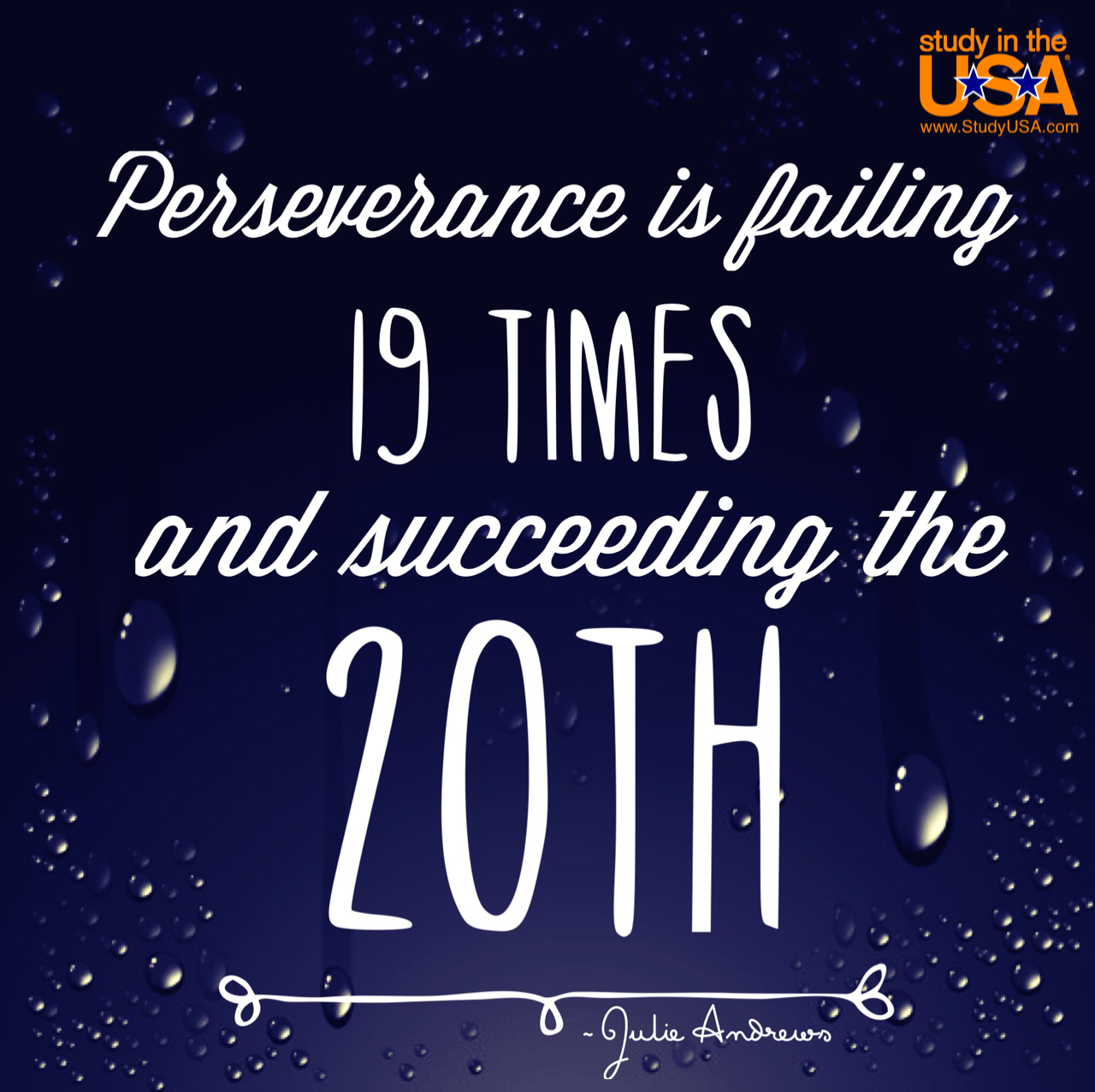Succeeding Quotes Monday Quote Perseverance Is Failing 19 Times And Succeeding The