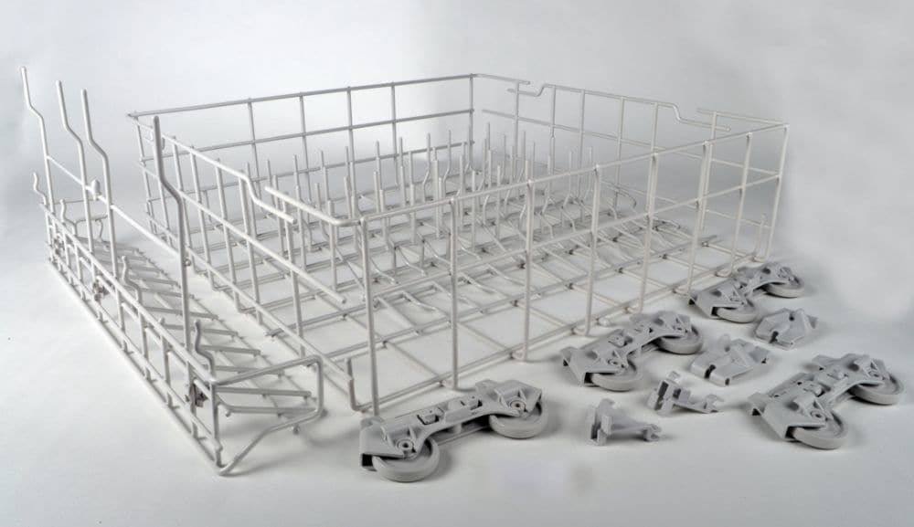 Dishwasher dishrack lower w10134647 dishwasher