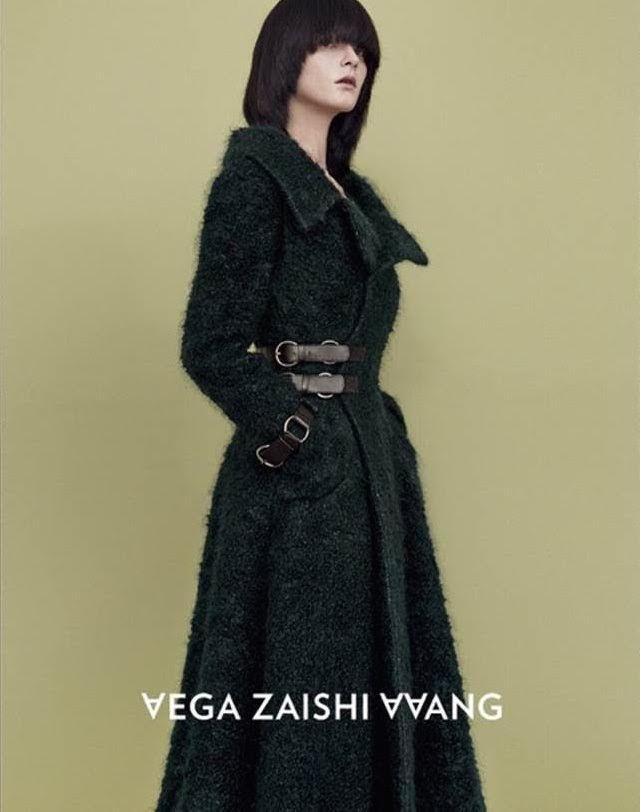 Wilhelmina Models: Zen Sevastyanova for Vega Wang Fall/Winter 2015. Credits: Photography by Yu Cong, Styling by Liu Xiao, Makeup by Tai Lingyi, and Grooming by He Zhiguo. - See more at: wilhelminanews.com