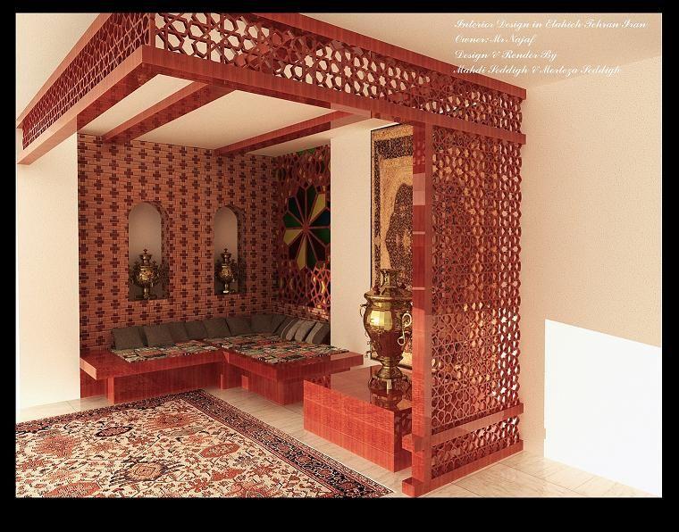 Elahie Iranian Traditional Interior Design 760 X 596