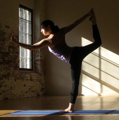strike a yoga pose dancer  요가