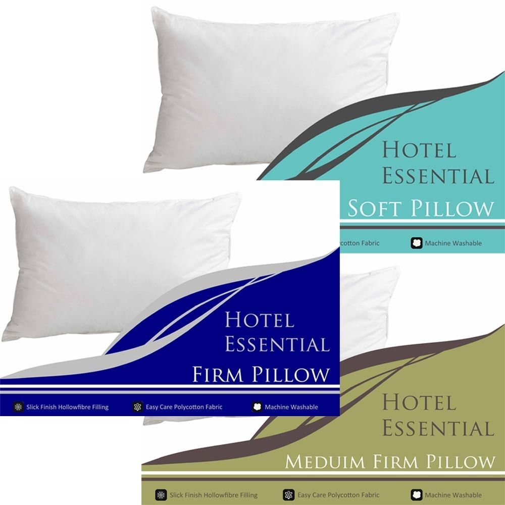 Hotel Essential Luxury Collection Pillow Pillows Soft Medium