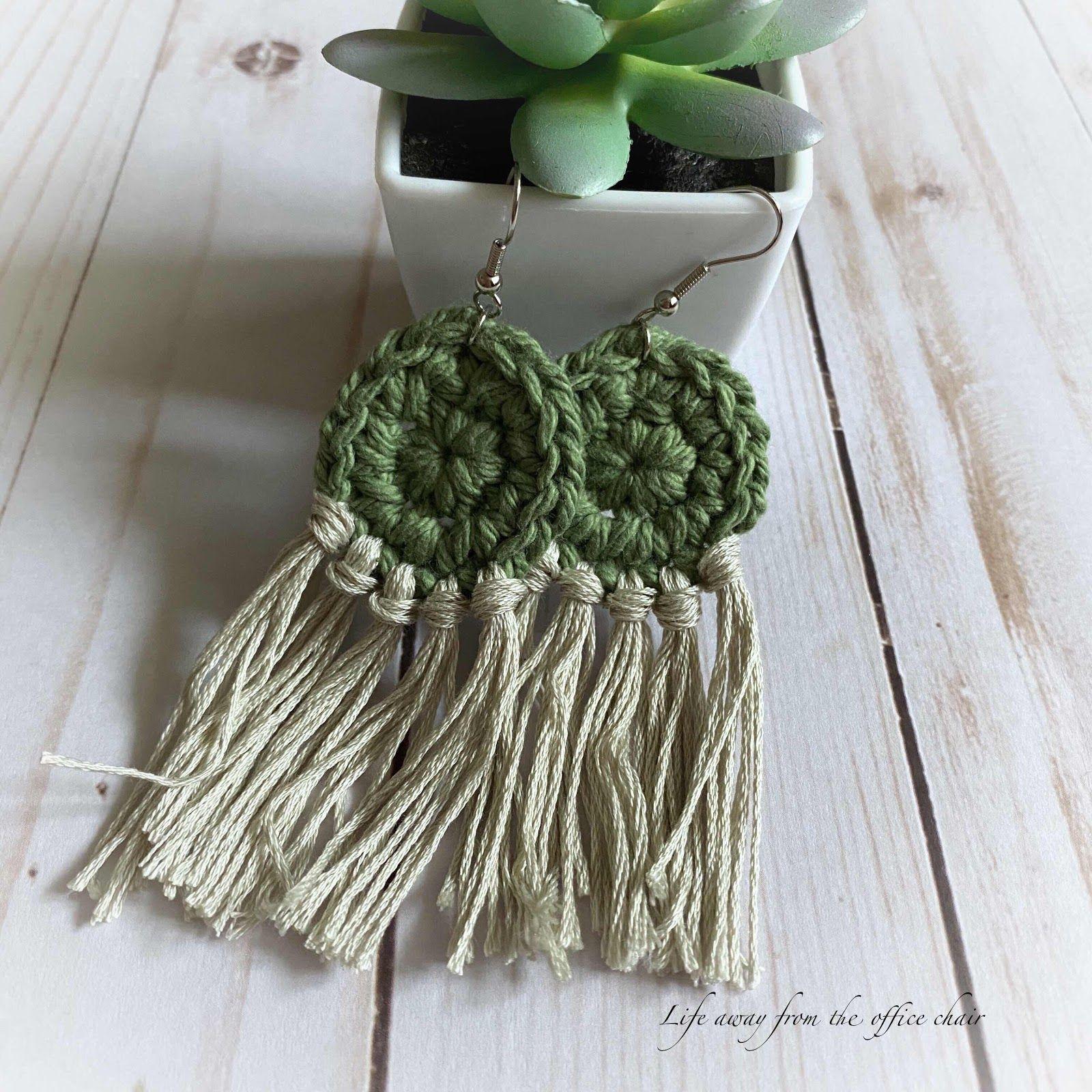 Crochet Earrings – Häkeln