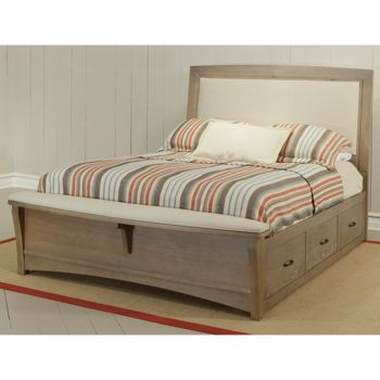 Costco: Chambers Queen Upholstered Storage Bench Bed   Wilson costco ...