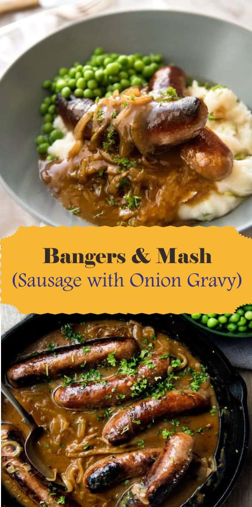 Photo of Bangers & Mash (saucisse avec sauce à l'oignon) – Meilleure cuisson facile – Meilleure cuisson facile …