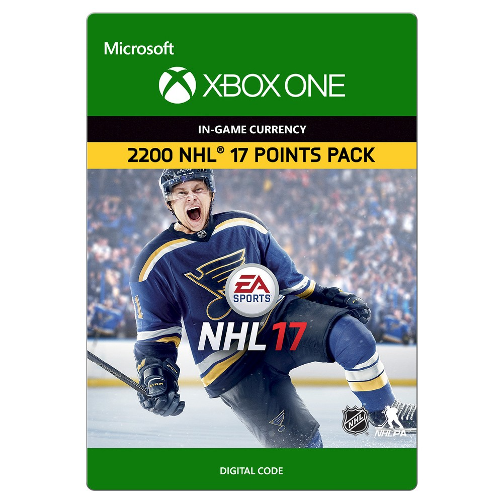 Xbox One Nhl 17 2200 Points 19 99 Email Delivery Products