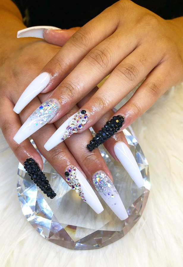 These Amazing Ombre Coffin Nails Design For Summer Nails You Can T Miss Coffin Nails Designs Coffin Nails Long Nails