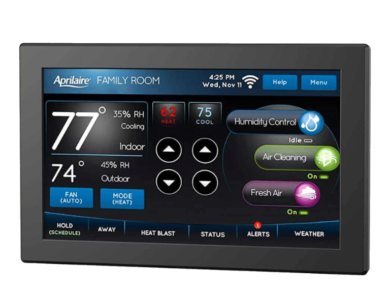 Hvac Tips How The Aprilaire Wi Fi Thermostat Compares To Ecobee And Nest Air Conditioning Repair For Huntsville Madison Al Ecobee Thermostat Nest Learning Thermostat