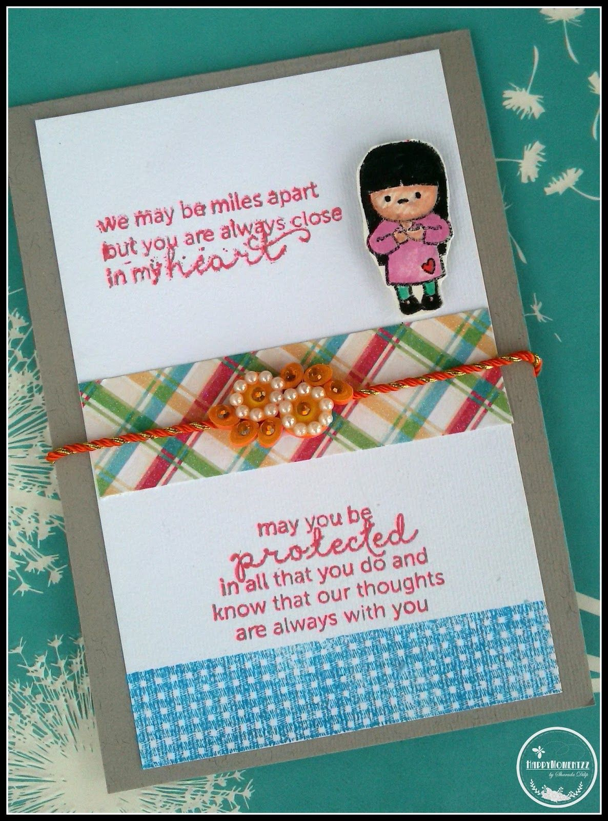 Happymomentzz Crafting By Sharada Dilip Rakhi Cards At