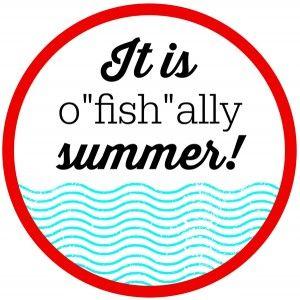 image relating to O Fish Ally Printable named O-FISH-ALLY Summer time Cl Presents Printable Tags Printables