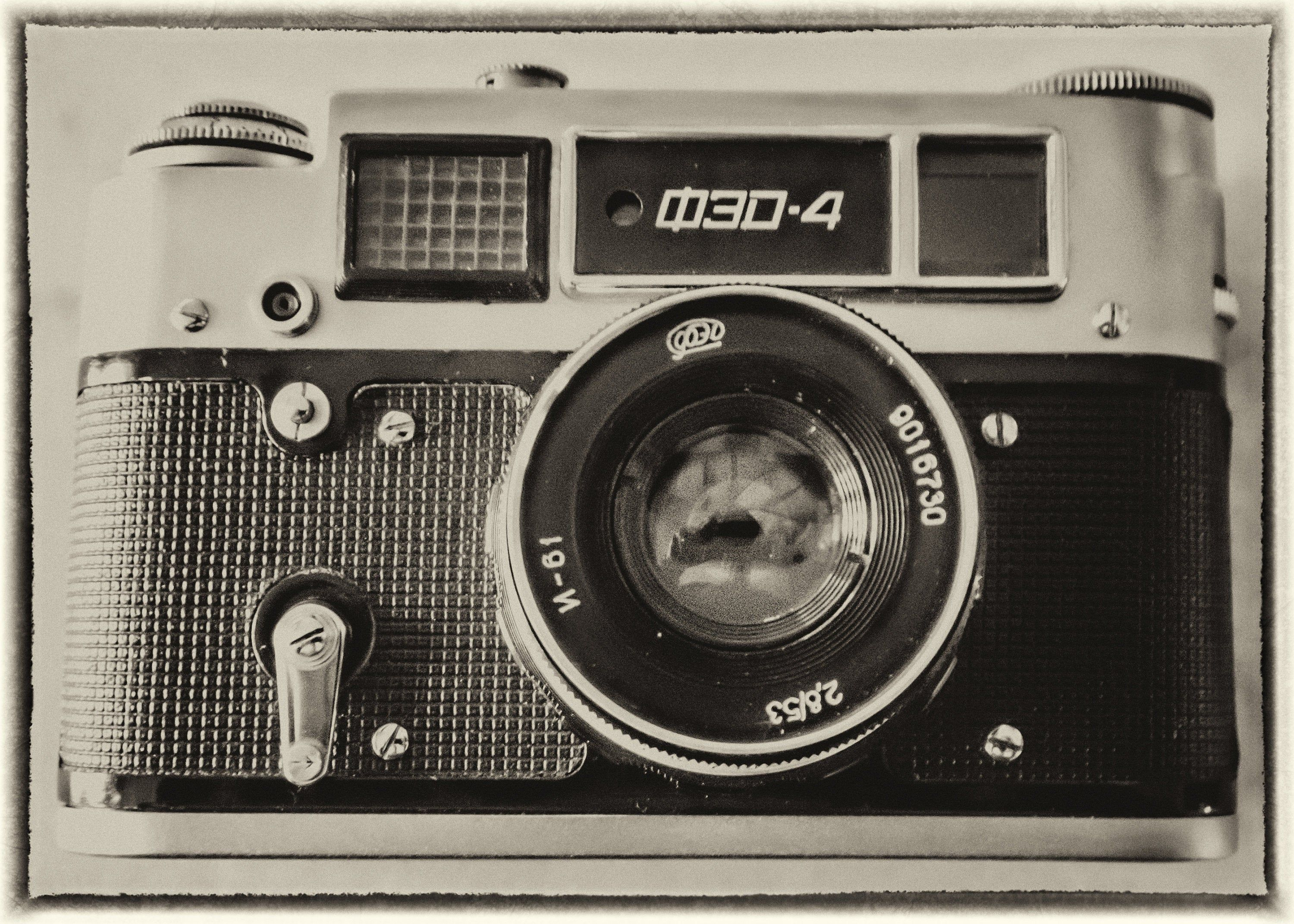 Fed 4 Vintage Russian Camera Photograph Vintage Effect Fed4 Etsy In 2020 Vintage Russian Retro Camera Dslr Photography Tips