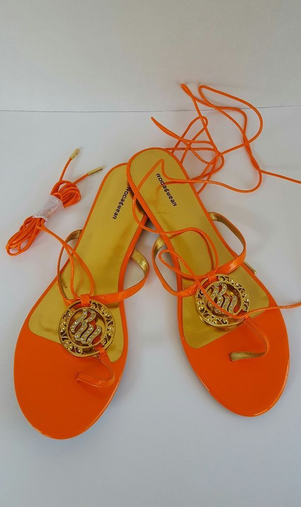 New-W/O Tags Women's ROCAWEAR Gladiator Sandals/Flip Flops Size 12 Orange | Clothing, Shoes & Accessories, Women's Shoes, Sandals & Flip Flops | eBay!