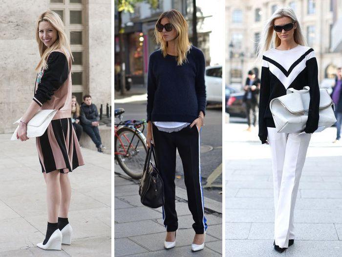 sapatos branco em looks
