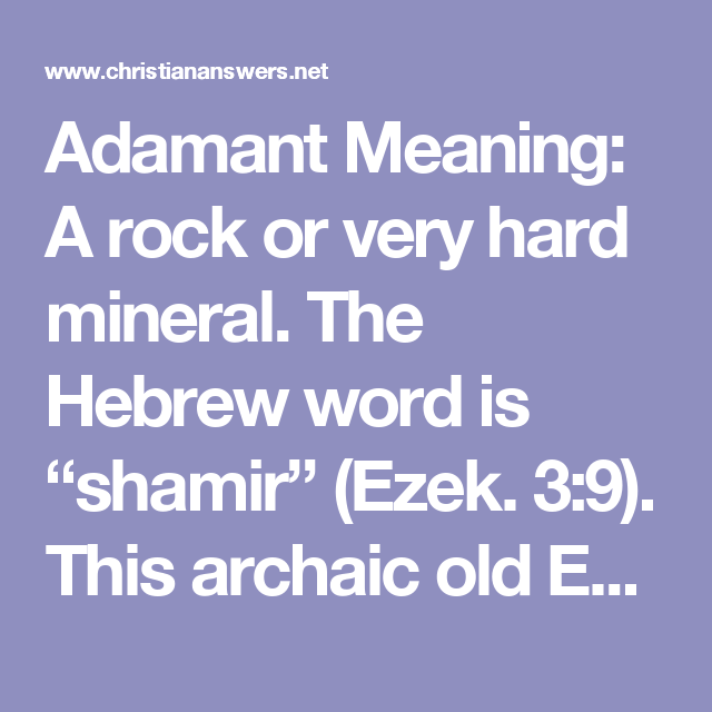 Adamant means yahoo dating