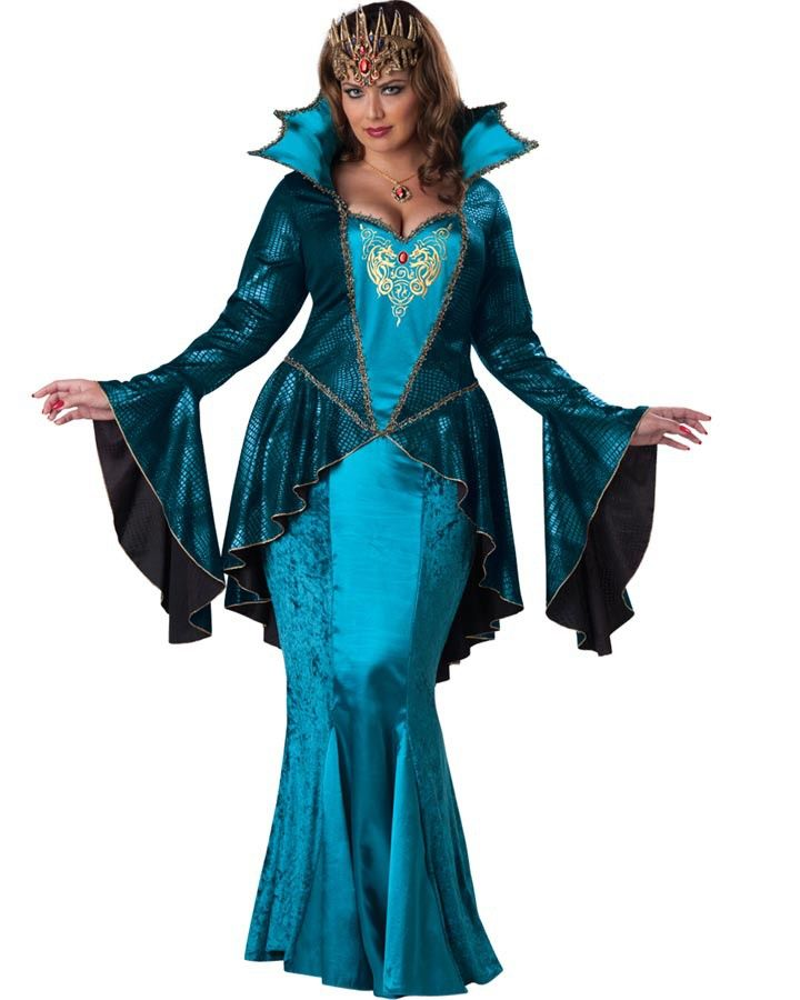 medieval queen womens plus size costume | disney party ideas
