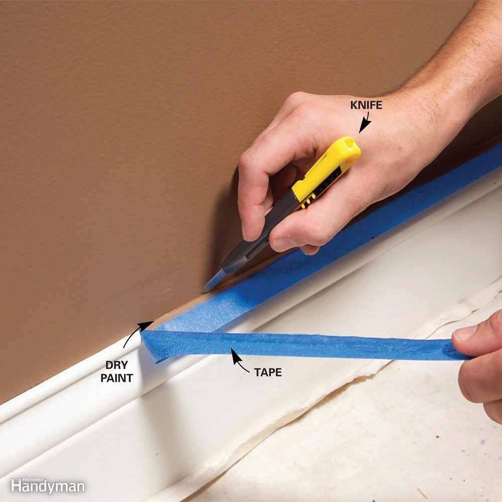 Paint Trim Or Walls First And Other Painting Questions Answered Painting Tips Home Diy Home Improvement