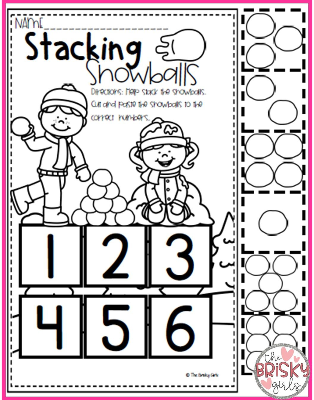 Winter Activity Packet With Images Preschool Christmas