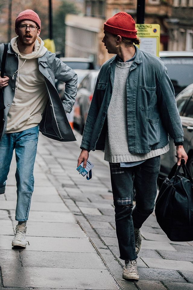 87efe10283a Our photographer Jonathan Daniel Pryce captures the strongest looks on the  street at London Fashion Week Men s Fall Winter 2017-2018.
