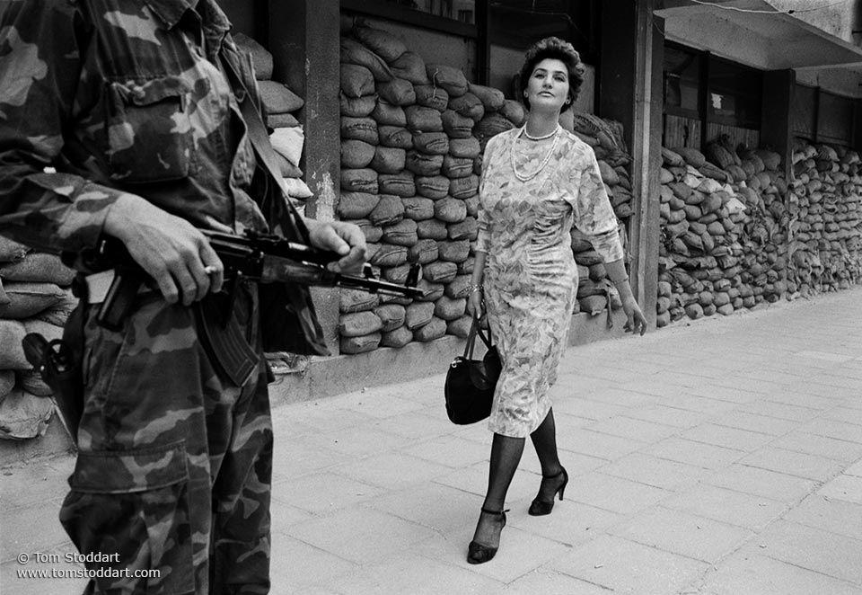 Tom Stoddart. Sarajevo Photograph