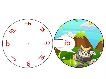 Free Printable Alphabet Wheels