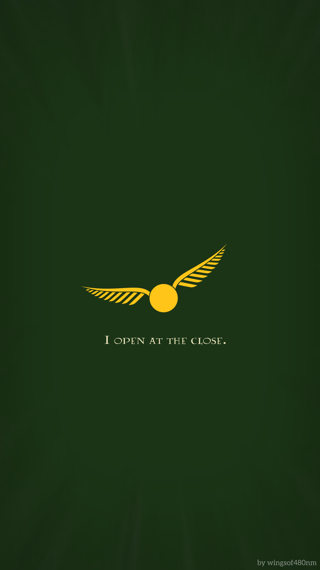 Harry Potter Minimalist Backgrounds by wingsof480nm on ...