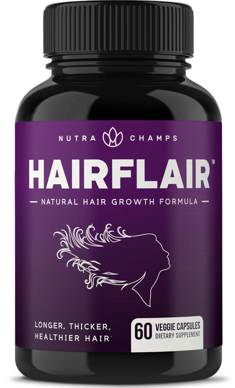 HAIRFLAIR Hair Growth Vitamins with Biotin for Longer
