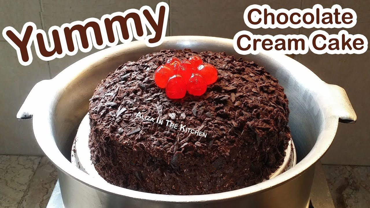 Chocolate Cake | Cake Without Oven | Chocolate Cake ...