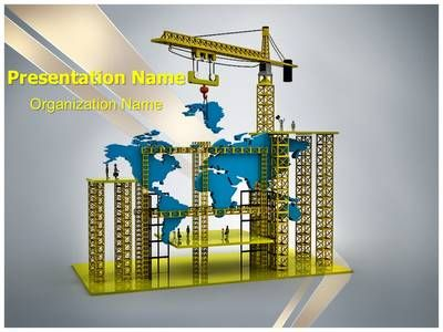 Construction World Powerpoint Template is one of the best PowerPoint - best of barefoot investor blueprint promo code