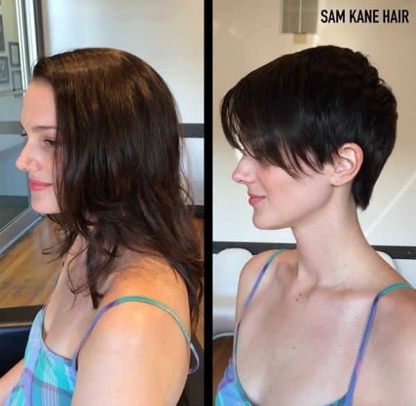 Long to short hair makeover | hairstyles real and imagined ...