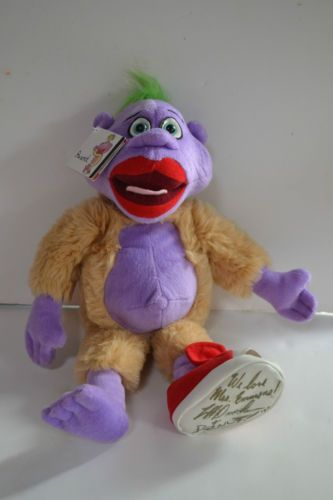 Jeff Dunham Peanut Plush 18 Doll Signed Red Shoe Limited Edition