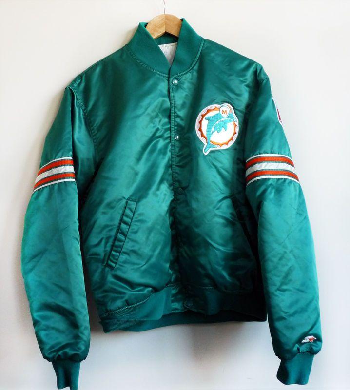 54ab6e98 Miami Dolphins Starter Jacket! | Miami Dolphins stuff I want | Miami ...