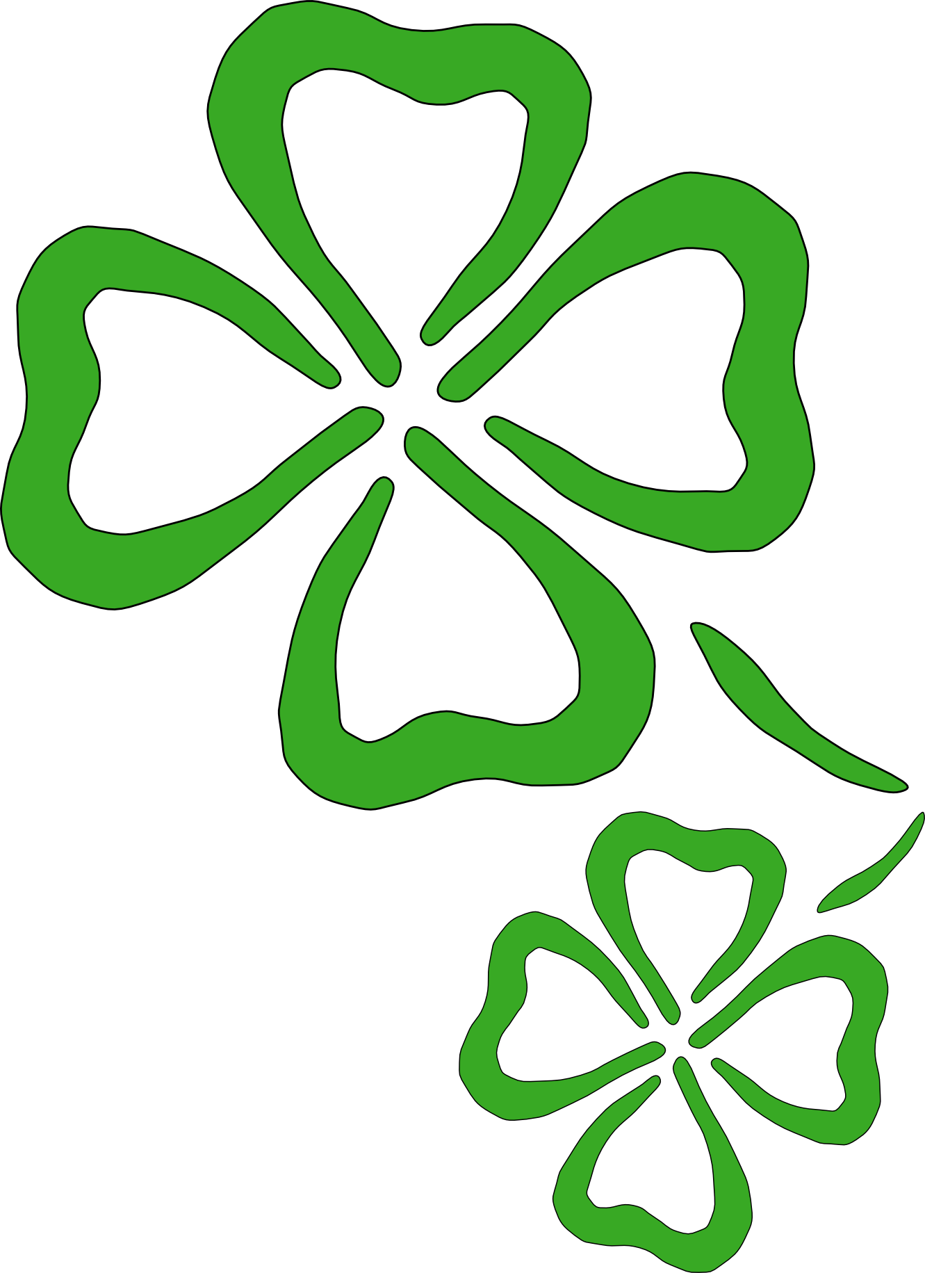 clipart shamrock clipart best clipart best infant room rh pinterest com 4 leaf clover clipart free 4 leaf clover clipart