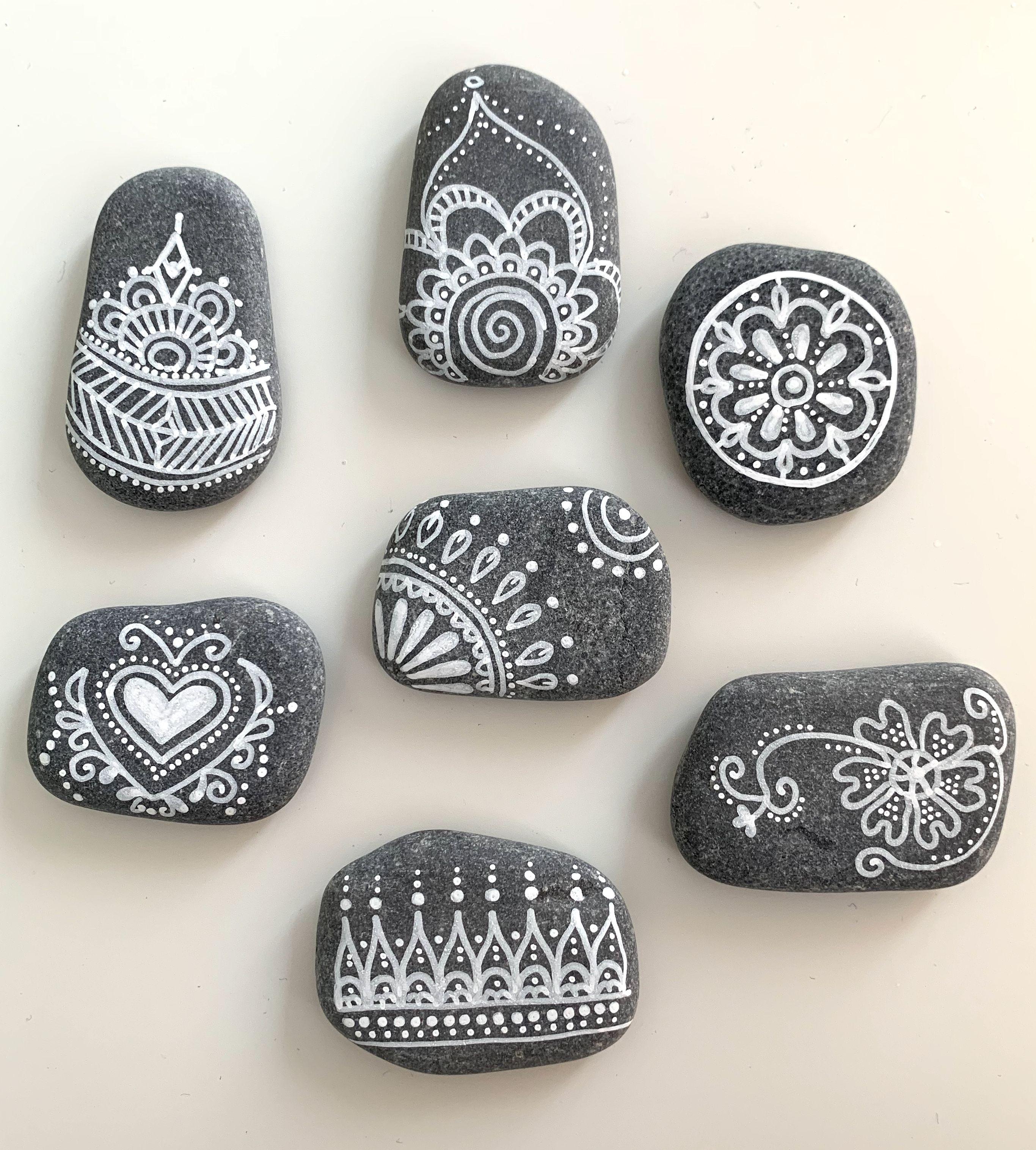 Steinmalerei - Rockart - Ornamente