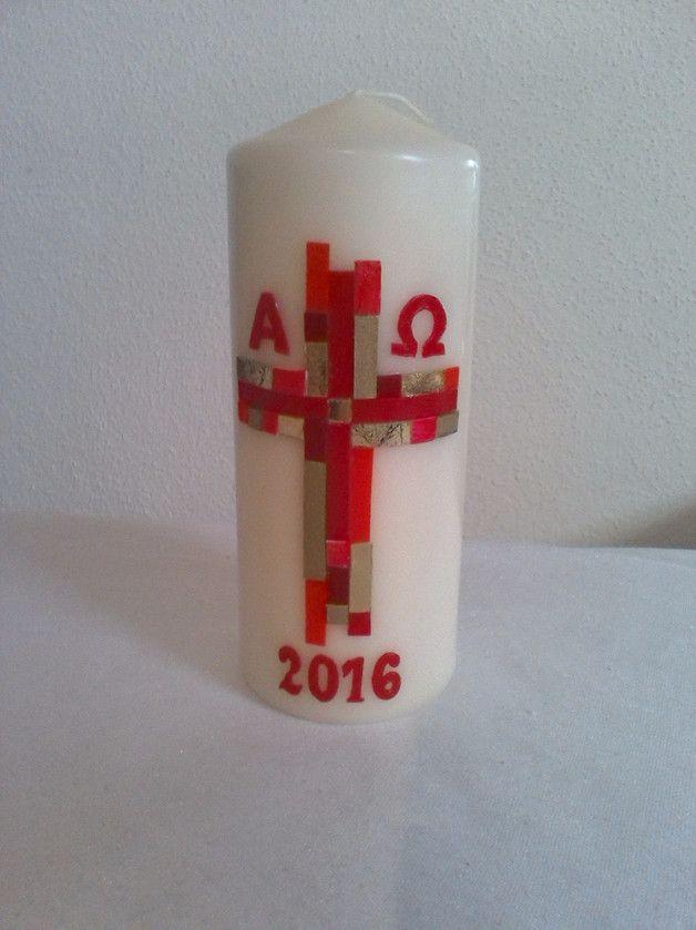 Osterkerze Kommunion Konfirmation Osterkerze Kerzen Kerzen