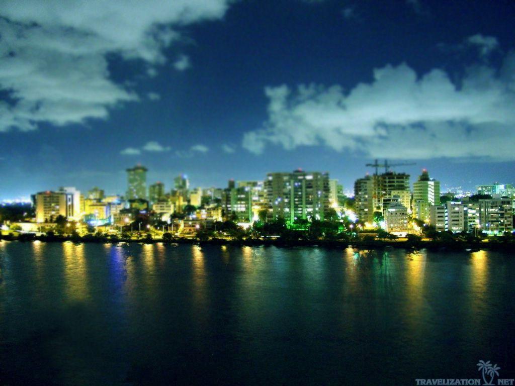 Puerto Rico Night Wallpaper Hd Landscape Wallpaper Wallpaper Puerto