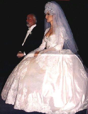 Nice Day For A Fug Wedding | Celine dion wedding ...