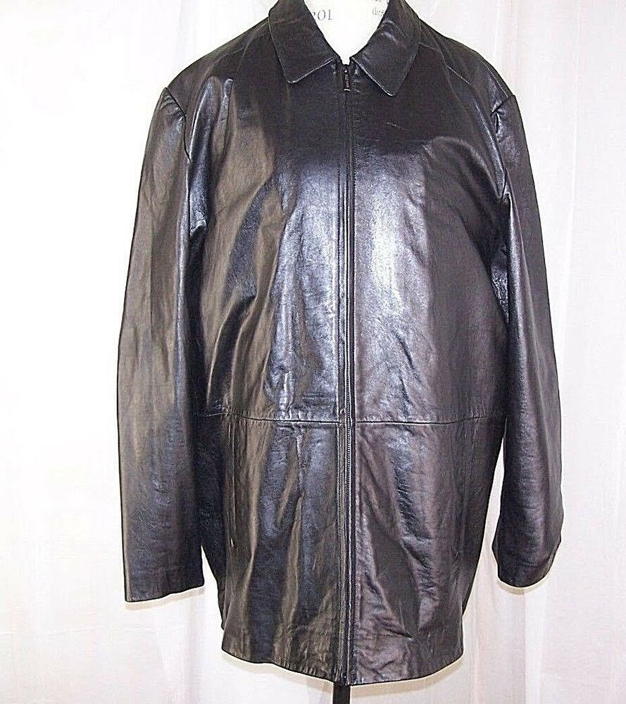 Wilsons Leather Jacket Pelle Studio Thinsulate Lining Coat